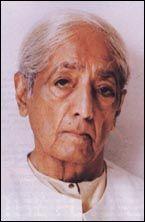 Krishnamurti - portrait