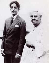 Avec Annie Besant